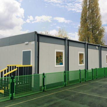 school cabins