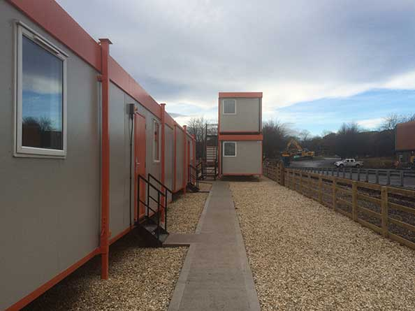Office cabin hire