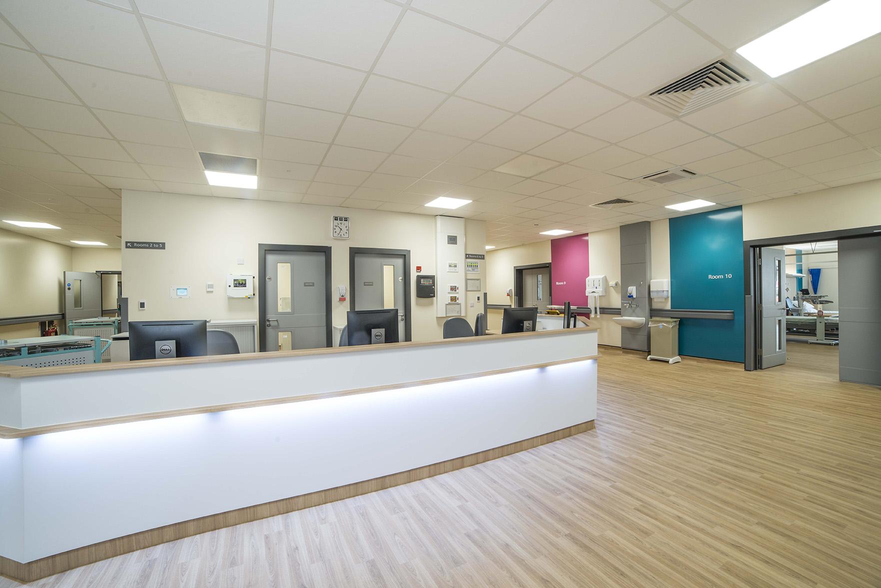 NHS Modular building